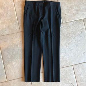 Theory Classic Crop Wool Pants